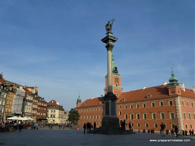 plaza del Castillo Real de Varsovia