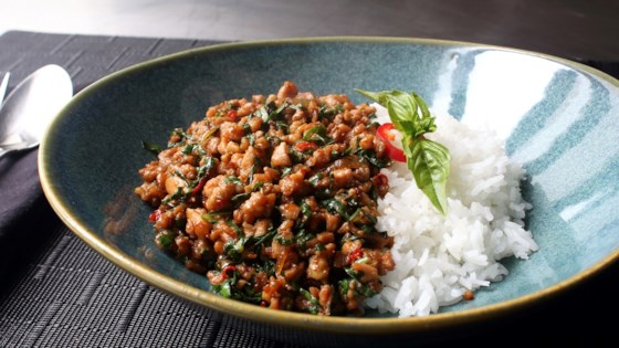 Thai Cuisine Pad Ka Prao