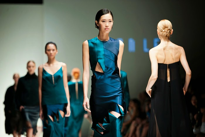 Singapore Fashion Week- Dion Lee Fall 2015