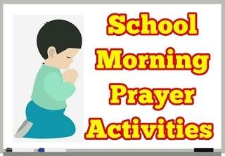 School Morning Prayer Activities -20-08-2019