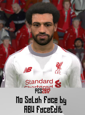 PES 2017 Faces Mo Salah by ABW_FaceEdit