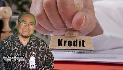 Ambon, Malukupost.com - Otoritas Jasa Keuangan (OJK) Maluku mencatat penyaluran kredit perbankan triwulan II/2019 tumbuh positif secara year on year (yoy) sebesar 13,45 persen atau senilai Rp1,58 triliun, dari Rp11,1 triliun menjadi Rp13,28 triliun.    Kepala OJK Maluku, Bambang Hermanto mengatakan, kontribusi perbankan di Maluku terhadap perkembangan perekonomian selama triwulan II/2019 cukup signifikan dan memiliki kinerja yang terjaga baik.
