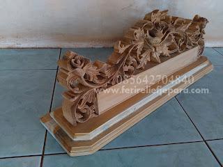 papan nama ukir kayu jati