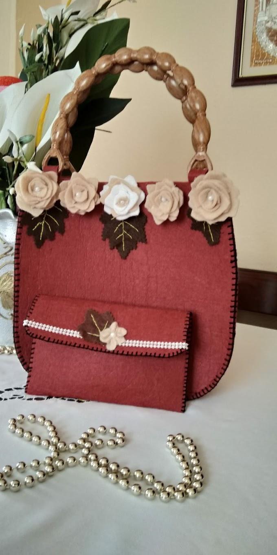 Keçe çanta modelleri | Keçeden yapılmış harika çantalardan örnekler