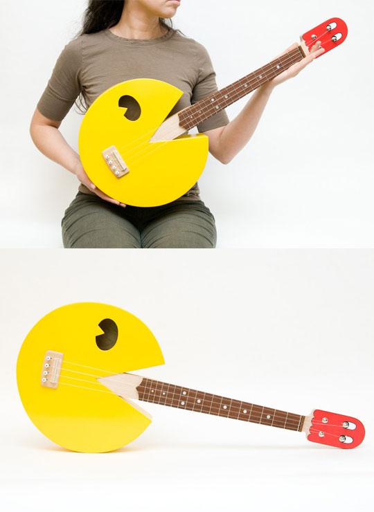 pac man ukulele