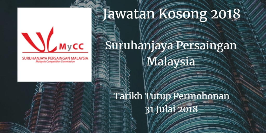Jawatan Kosong MyCC 31 Julai 2018