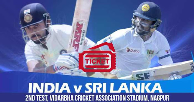 India vs Sri Lanka: 2nd Test Nagpur Tickets and Price: BookMyShow