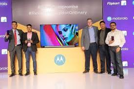 Motorola tv launch