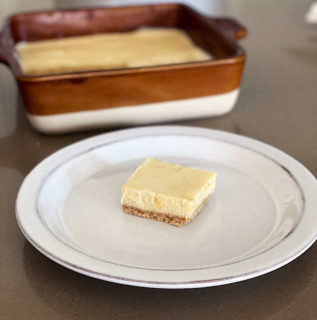 Recipe for Triple Citrus Bars by freshfromthe.com.
