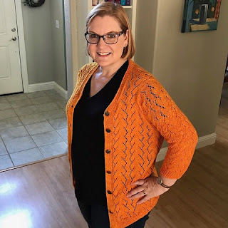 2789567ba3 Tracie in her Lake Effect cardigan