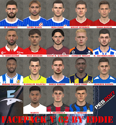 PES 2017 Facepack v62 by Eddie