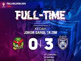 Piala Malaysia 2019 Milik JDT