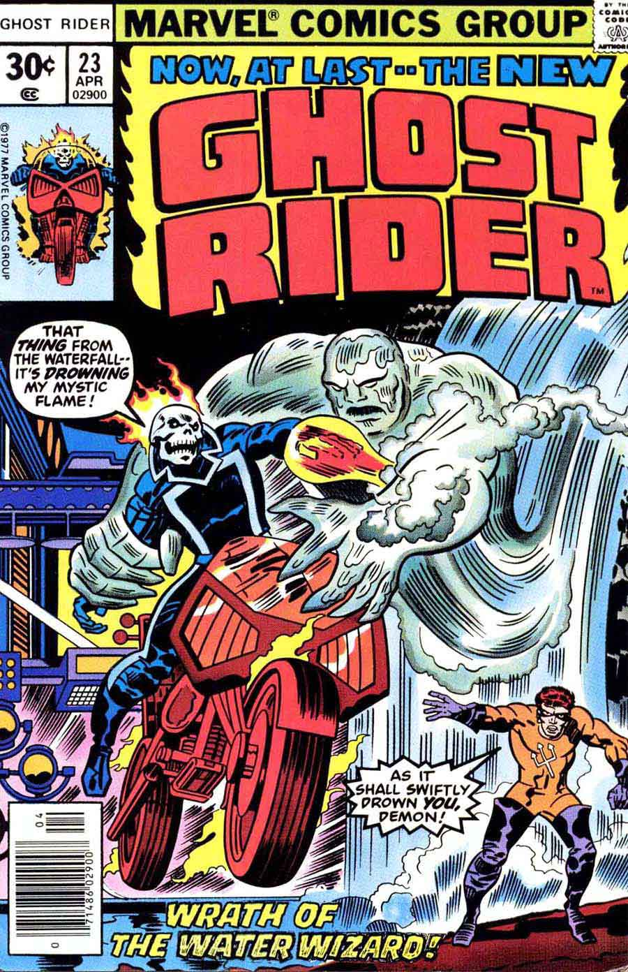 Comic Book Cover Artist Jobs : Ghost rider v don newton art jack kirby cover