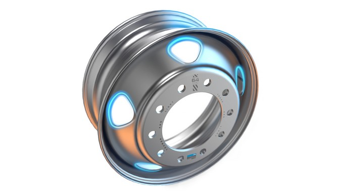 Maxion Wheels inicia produção de roda em aço mais resistente, leve e eficiente para caminhões