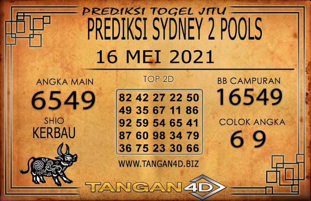 PREDIKSI TOGEL SYDNEY2 TANGAN4D 16 MEI 2021