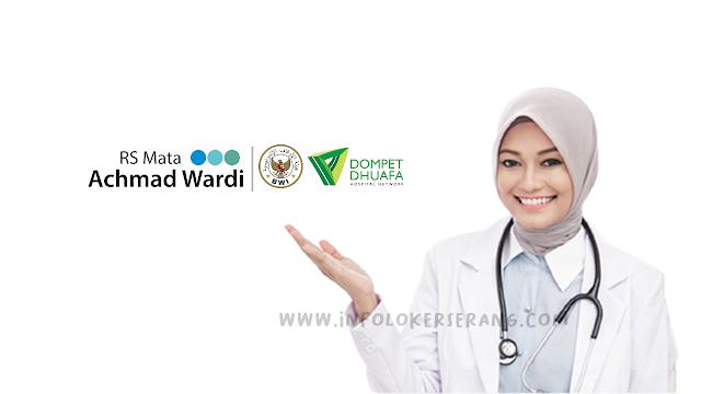 Lowongan Kerja Analis Laboratorium RS Mata Achmad Wardi BWI-DD Serang