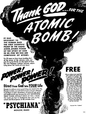 Thank God for the Atomic Bomb