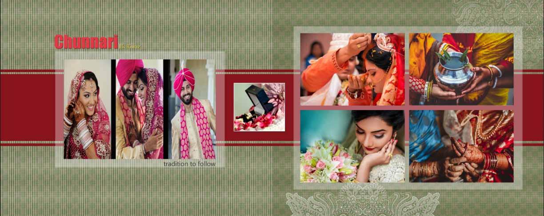 Wedding Album Design PSD Free Download - 12x36 PSD Templates VOL 3