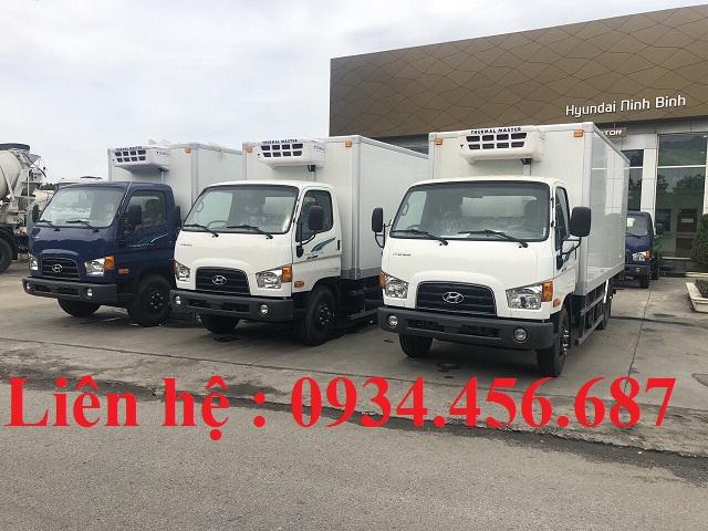 Xe thùng đông lạnh Hyundai