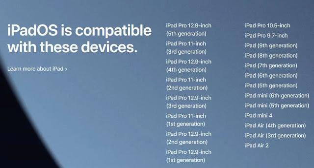 إليك قائمة بالأجهزة التي سيتم تحديثها الي نظام iOS 15 و iPadOS 15 قريباً