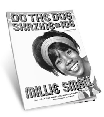 The cover features a 1960's-era photograph of the young Jamaican singer Millie Small smiling at the camera.