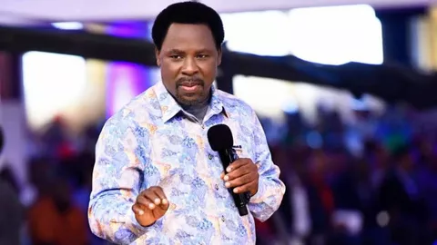 BREAKING: Prophet TB. Joshua is Dead!