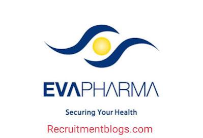 Fresh Medical Representative At Eva Pharma |Pharmacy or Veterinary Medicine