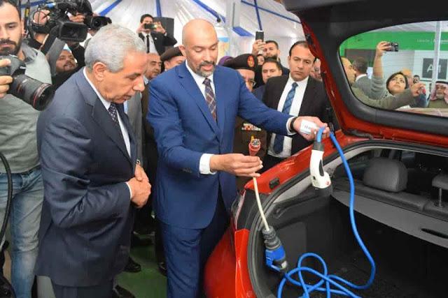 السيارات الكهربائية في مصر