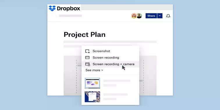 Cara Menggunakan Dropbox Capture Untuk Membuat Pesan Video