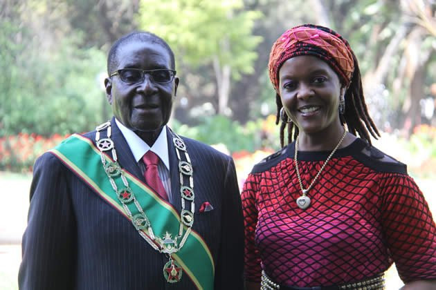 Former Zimbabwean First Lady, Grace Mugabe summoned for 'improperly' burying her husband Robert Mugabe