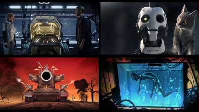 Love Death and Robots Season 1 480p Hindi Dual Audio Full Hd Download