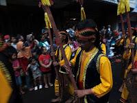pawai seni budaya di CGM bogor street festival 2016