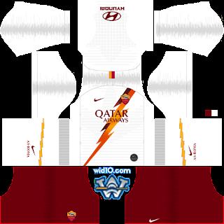 AS Roma Dream League Soccer fts 2020 dls fts kits and Logo,AS Roma dream league soccer kits, kit dream league soccer 2020