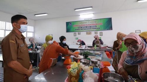 Dinas Ketahanan Pangan Kota Payakumbuh Laksanakan Pelatihan Olahan Pangan Lokal