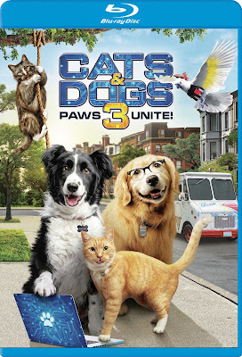 Cats & Dogs 3: Paws Unite [2020] [BD25] [Latino]