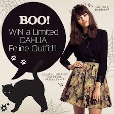 Dahlia Fashion Cat Skirt
