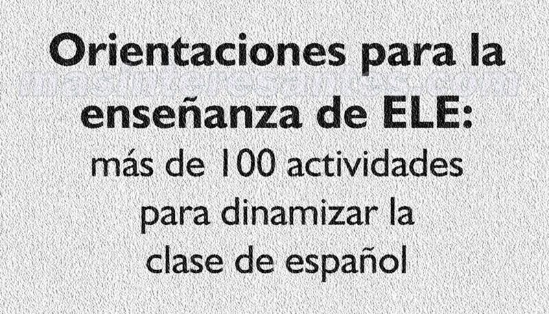 100 actividades para dinaminzar la clase