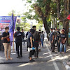 Aksi Unras Gerakan Mahasiswa Kristen DPP Indonesia di Kota Makassar