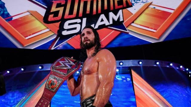 Brock Lesnar vs. Seth Rollins Universal Championship Match