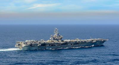 Grupos de ataque USS Ronald Reagan e USS Nimitz se mobilizam em meio a tensões com a China 3