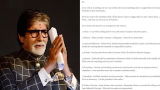 Amitabh Bachchan Gets a job Offer by his fan