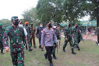 Panglima TNI dan Kapolri Ingatkan Forkompimda Blora Waspadai Lonjakan Kasus Covid-19