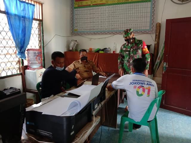 Jalin Silaturahmi, Personel Jajaran Kodim 0207/Simalungun Laksanakan Komunikasi SOsial Dengan Perangkat Desa