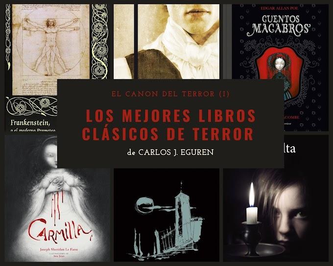 Los mejores libros clásicos de terror