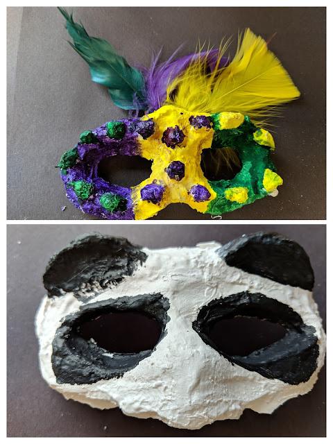 Plaster Mask Fifth Grade Art Lesson