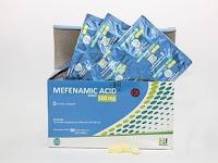 Mefenamic acid - Kegunaan, Dosis, Efek Samping