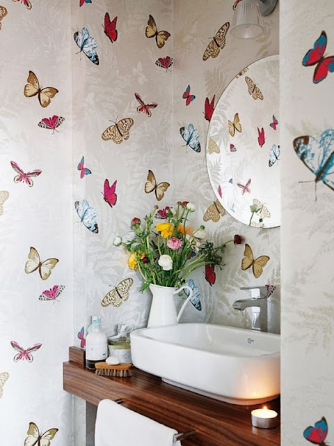 Ideas For Decorating With Wallpaper 2