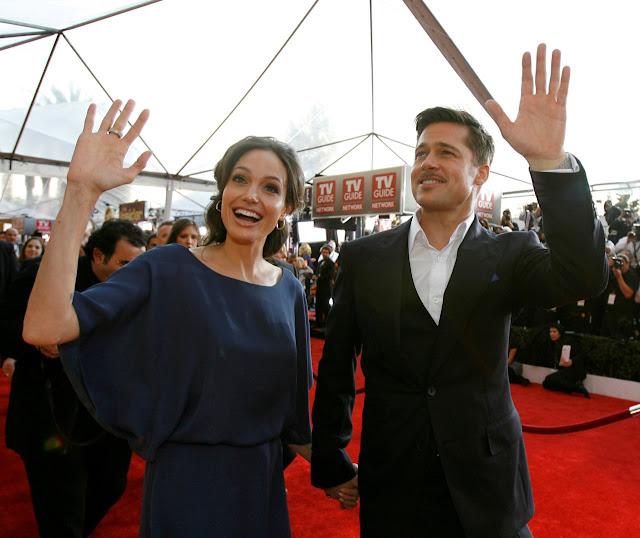 Angelina Jolie and her husband Brad Pitt Life in loving Full HQ Photos