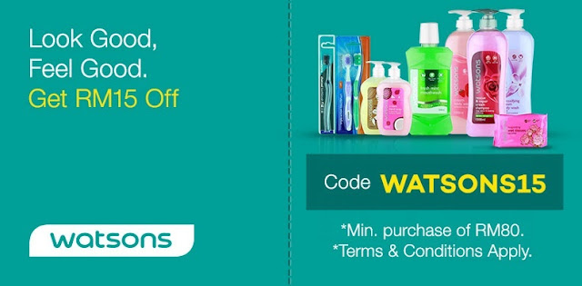 Official Watsons Online Store Lazada Code Malaysia Discount Promo