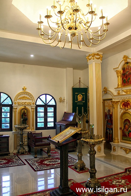 Храм во имя преподобного Сергия Радонежского. Остров Ко Чанг. Таиланд